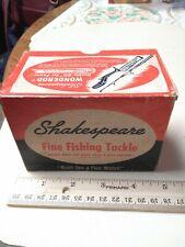 Vintage Shakespeare 1905 Deuce Casting Reel Box ,Fish,Fishing Tackle ,U.S.A.