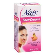 Nair Hair Remover Moisturizing Face Cream 2 oz Each