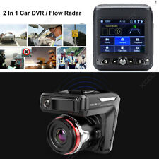 2 in 1 HD 1080P Car Dash Cam Radar Speed Detector Camera Video Recorder DVR