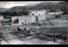 ARZEW / ORAN (ALGERIE) VILLAS & PORT animés début 1900