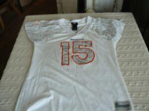 Reebok NFL Team Apparel Womens Jersey Denver Bronco White Medium