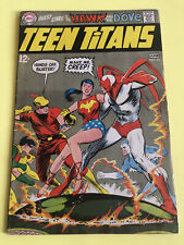 Teen Titans #21 Wonder Girl Hawk and Dove Cover 1969