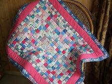 Handmade Floral Decorative Patchwork Quilts