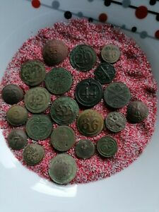 22 Boutons Militaire