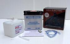 Batterie Akku 6V 12Ah m Säurepack pass f Simson S50 S51 S70 Roller SR50 SR80 ES