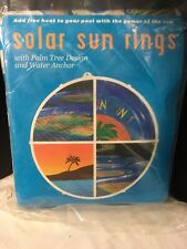 Solar Sun Rings Solar Sun Ring For Swimming Pool With Anchor