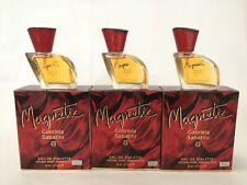 Gabriela Sabatini Magnetic Perfume 20mlx3 (60ml) Eau de Toilette Spray Vintage