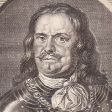 Portrait XVIIIe Michiel Adriaenszoon de Ruyter Amiral Marine Royale Néerlandaise