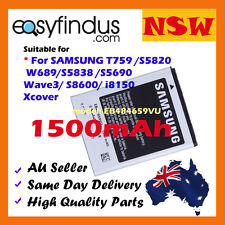 Lithium-Ion Battery For SAMSUNG S5820 W689 S5838 S5690 Wave3 S8600 i8150 T759 AU