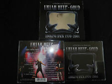 RARE COFFRET 2 CD URIAH HEEP / LOOKING BACK 1970 - 2001 / DELUXE EDITION /