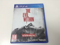 THE EVIL WITHIN + THE FIGHTING CHANE PACK . Pal España ... Envio Certificado