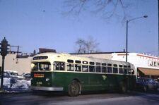 CTA Chicago Transit Authority GM Old Look bus Kodachrome original Kodak slide