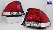 JDM Clear Red LED Tail Lights for 99-05 LEXUS IS200 IS300 Toyota Altezza