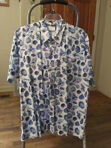 Shark Design men shirt xxl