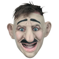 Adult Customizable Hairstyle Big Nose Funny Mask