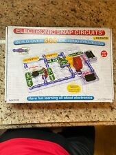 Electronic Snap Circuits 300 ProjectS For Kids Ex MotionDetector/Radio Announce