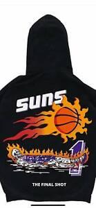 Vintage 90's Phoenix Suns Hoodie NBA Basketball Team Champ 2021 Sport Team Gi...