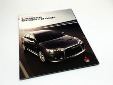 2010 Mitsubishi Lancer Sportback GTS Ralliart Brochure