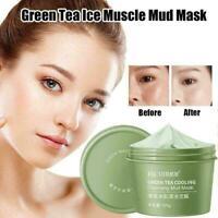 Green Tea Mud Film Skin Cleaning Moisturizing Repair Mask Y2T3 Face Smear Z6J8