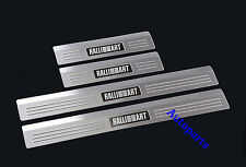 Door sill scuff plate Protector For Mitsubishi Lancer 2008-2017 Ralliart