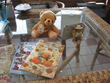 Lot of 4 Cherished Teddies Chester Orig Box, Stuffed Teddie, 2 Guides ww