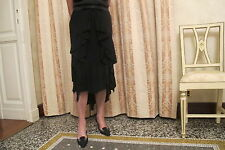 Gonna nera per occasioni molto eleganti dello stilista italiano ANTONIO MARRAS.