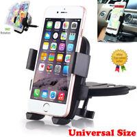 CD Slot Car Phone Holder Universal Cell Phone Car Mount iPhone 7 8 Plus Samsung