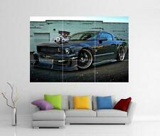 SHELBY MUSTANG CAR GIANT WALL ART PRINT POSTER H41