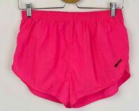 Pink 90s M Sprinter Nylon Shorts W26 - W32 Silky Retro vtg Run Jog Retro W28 W30