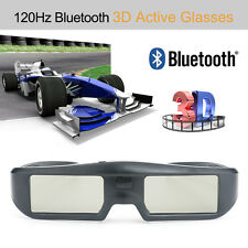 Bluetooth 3D Active Shutter Glasses For Sony Panasonic Sharp 3D TV Theater Home