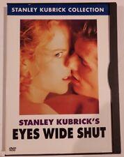 Eyes Wide Shut Dvd Stanley Kubrick Oop Rare Nicole Kidman Tom Cruise thriller