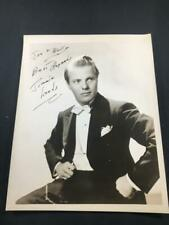 1940s Jimmy Leeds Magician Autographed Authentic Signed Theater Photo A241