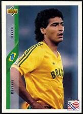Romario, Brasil #59 World Cup USA '94, (Eng/Ger) Card  (C385)