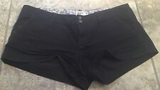American Eagle Black Stretch Shorts Size 4