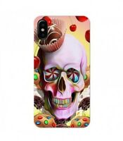 Coque Iphone X Mort candy sweet cupcake bonbon
