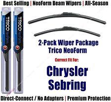 2pk Super-Premium NeoForm Wipers fit 2007-2010 Chrysler Sebring - 16240/220