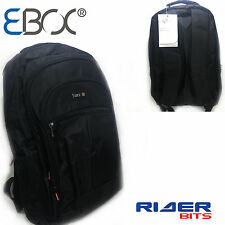 "Laptop Bag 15.6"" Backpack Men Women Waterproof Retro Rucksack College Travel Bag"