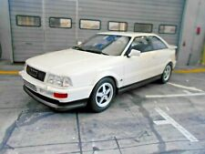 AUDI S2 coupe Turbo Typ89 Quattro Turbo weiss white Resin OTTO NEU 1:18