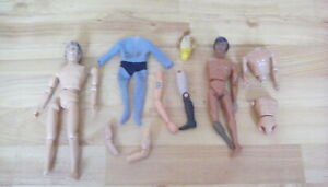 Mego figures / fighting furies spares - Dr Who, fonze, oz.....
