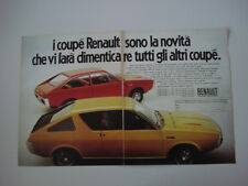 advertising Pubblicità 1972 COUPE' RENAULT 15 - 177