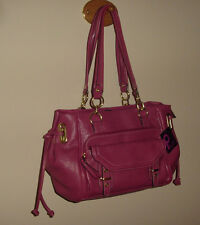 Plum By LaTique Large Shoulder Bag New With Tags