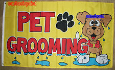 3x5 Pet Grooming Dogs Flag Business Advertising Sign Banner Outdoor Cats Pets