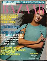 1973 Harpers Bazaar March - Susan Hutton; Big accessories issue