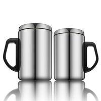 350/500ml Stainless Steel Insulation Thermal Mug Coffee Milk Water Tea Cup