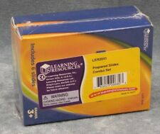 LEARNING RESOURCES PREPARED MICROSCOPE SLIDES, SET OF 2, UNOPENED - FREE SHIP