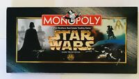 Monopoly Star Wars Classic Trilogy Edition Board Game Complete Parker Brothers