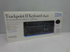 New 1997 Black IBM Model M13 Keyboard Trackpoint 13H6705 - Sealed Box RARE
