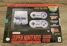 Box only.  Super Nintendo Entertainment System SNES Classic Mini Edition