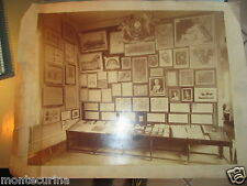1800ca GRANDISSIMA FOTOGRAFIA VINTAGE ROMA ASS. CATTOLICA ARTISTICA ED OPERAIA