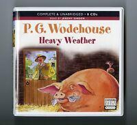 Heavy Weather: by P.G. Wodehouse - Unabridged Audiobook - 8CDs